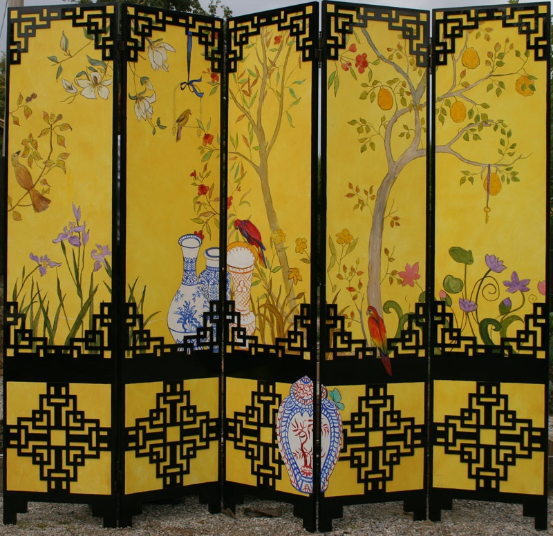 Chinoiserie screen
